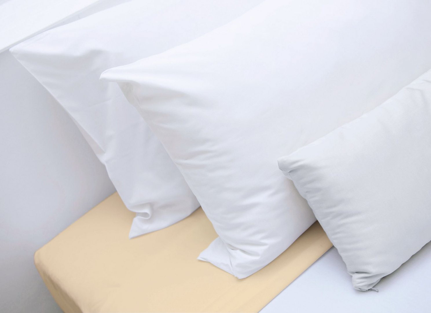 drap housse 90x190 champagne. Black Bedroom Furniture Sets. Home Design Ideas