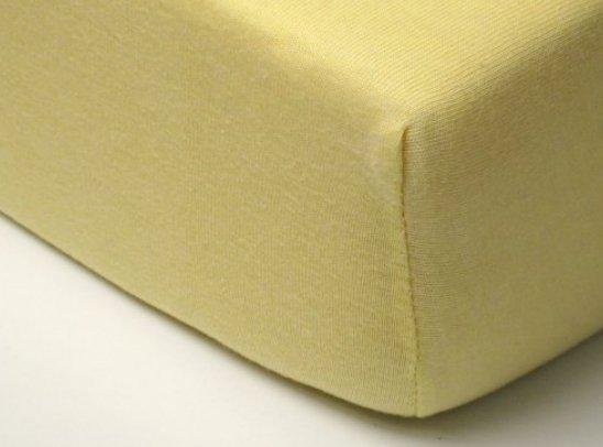 drap housse 100x200 jaune. Black Bedroom Furniture Sets. Home Design Ideas