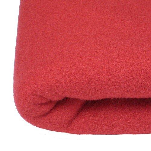 couverture maille polaire 240x260 fraise. Black Bedroom Furniture Sets. Home Design Ideas