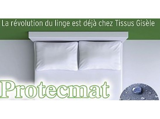 LINGE PROTECMAT INNOVATION - TAS-PM10 - Taie Carrée 60x60